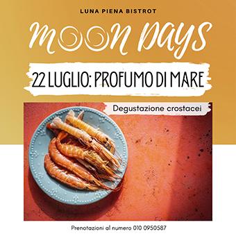 22 luglio ✦ Moon Days – Profumo di mare